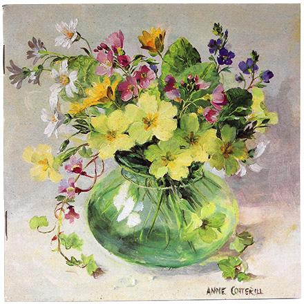 Anne Cotterill Notebook - Spring Posy