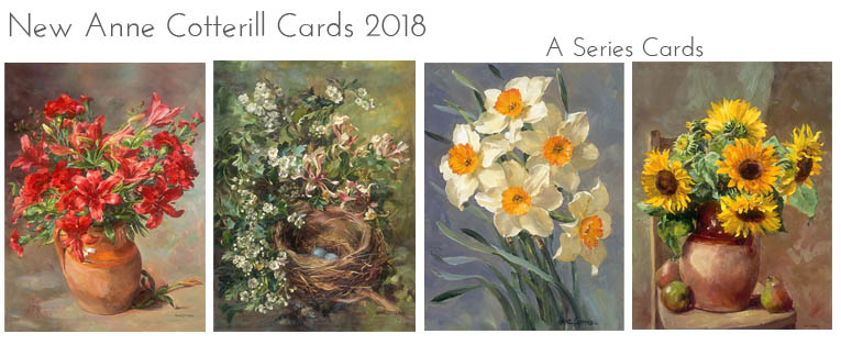 New A Series Flower Cards 2018